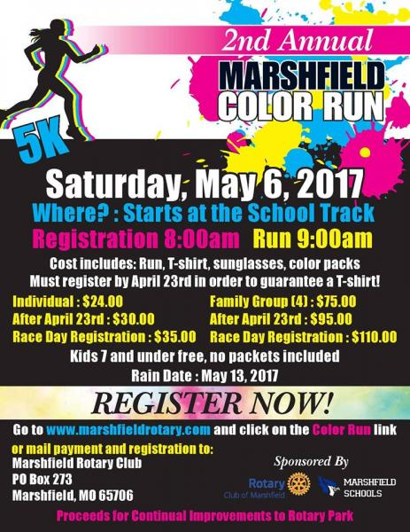 2nd Annual Marshfield Color Run