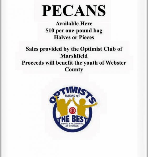 Optimist Club Pecan Sales