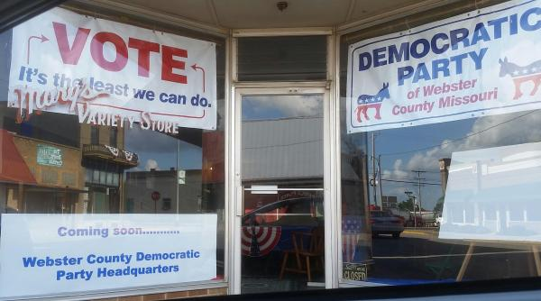 Democratic Party of Webster County Forum