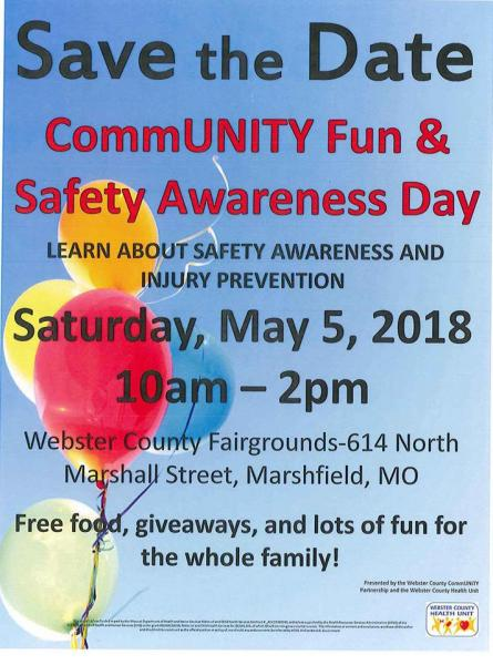 CommUNITY Fun and Safety Awareness Day