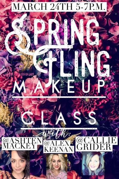 Spring Fling Make-Up Class