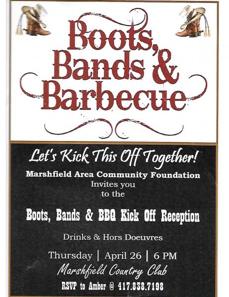 Boots, Bands, and BBQ Kick-Off!