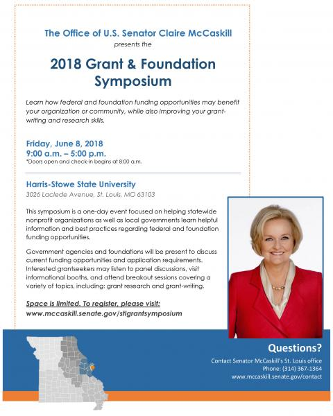 2018 Grant and Foundation Symposium