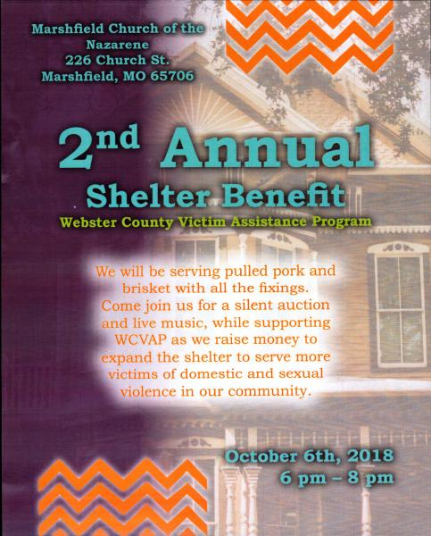 WCVAP 2nd Annual Shelter Benefit Dinner