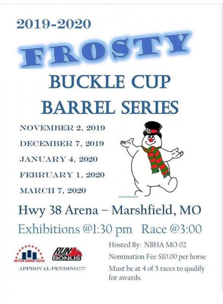 Frosty Buckle Cup Barrel Series