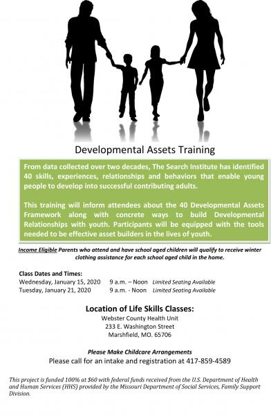Developmental Assets Training