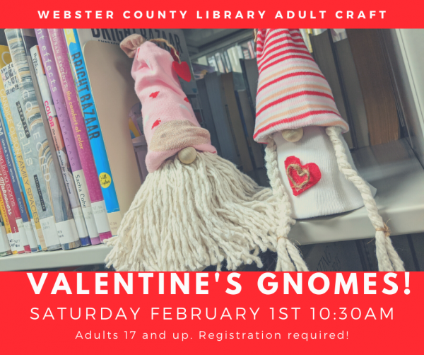 Valentines's Gnomes - Adult Crafting Class