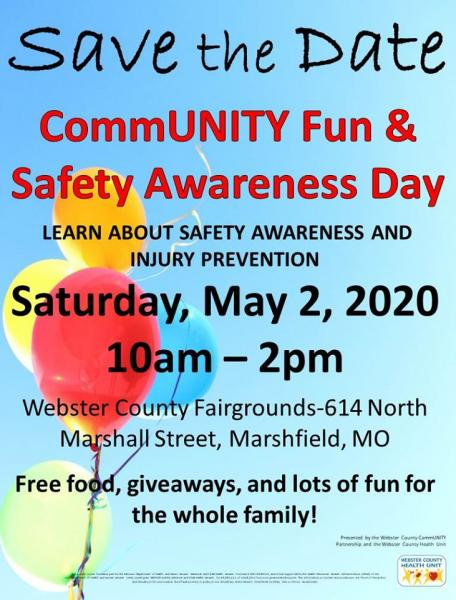 CommUNITY Fun & Safety Awareness Day