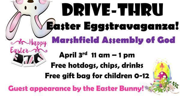 Drive-Thru Easter Eggstravaganza