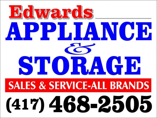 Edwards Appliance Sales/Service and Storage
