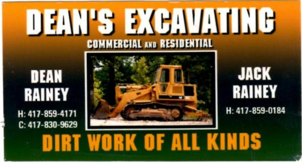 Dean's Excavating, LLC