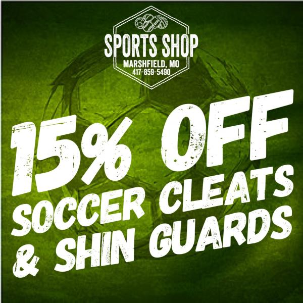 Soccer Deals at the Sports Shop!