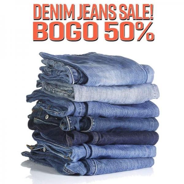 Denim Jeans Sale! BOGO 50%