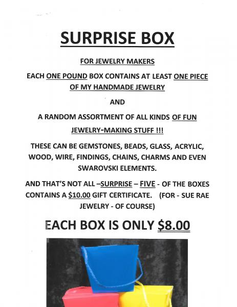 Sue Rae Jewelry Surprise Box